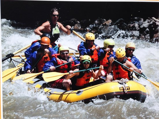 Whitewater Rafting, LLC : Rafting with Nick