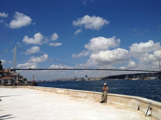 The Bosphorus Bridge: From Beylerbeyi side