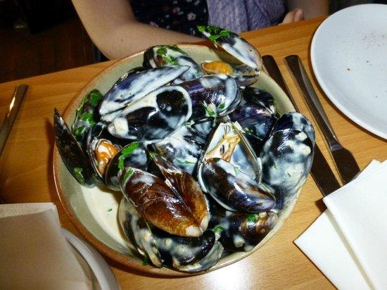 Blackfriars Restaurant: Mejillones