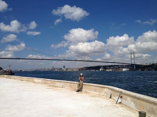 The Bosphorus Bridge: Beylerbeyi district