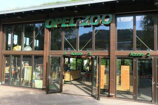 Opel Zoo: Zooeingang