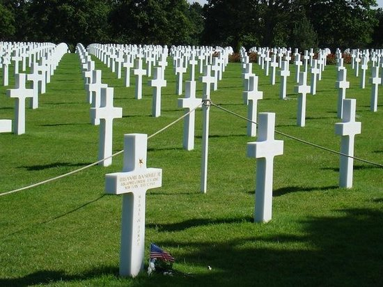 Executive D-Day Private Tours: The American Cemetery near Omaha Beach, Normandy, France