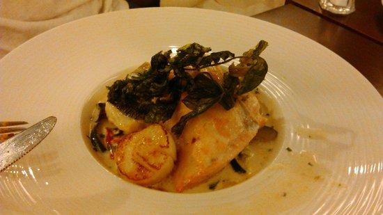 Pamplemousse: Рыба, гребешки