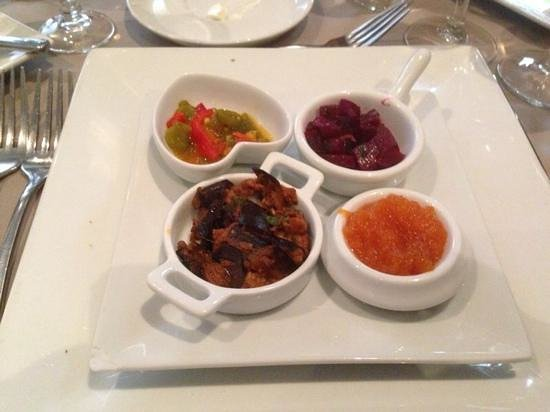 Hotel Riu Palace Tikida Agadir: Appetisers in the Moroccan restaurant