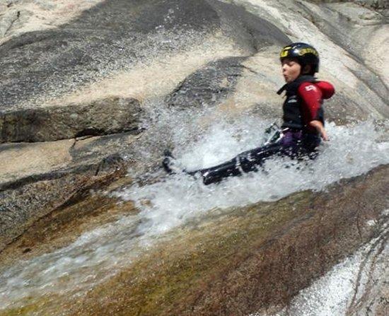 Levie, France : Canyoning en Corse du Sud avec Christophe Pigeault