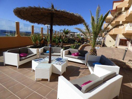 Ereza Dorado Suites Hotel : Espace détente