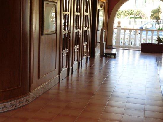 Ereza Dorado Suites Hotel : La reception