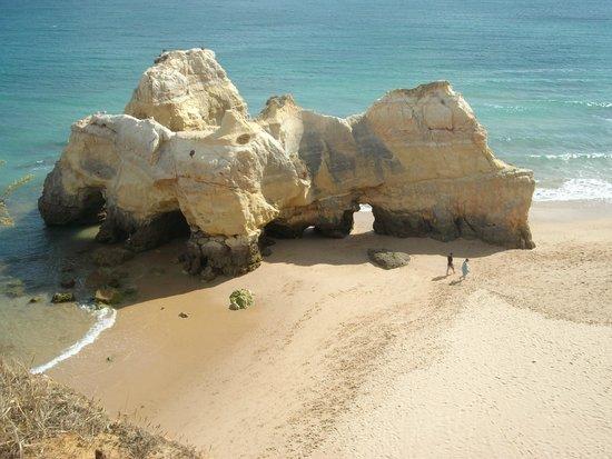 Praia de Alvor : una maravilla d ela naturaleza y fuerza del Oceano