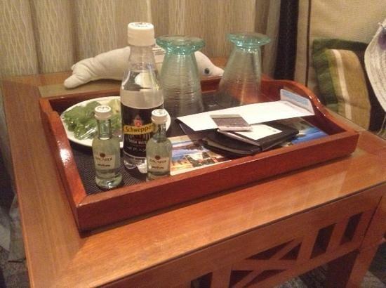 Kurumba Maldives : welcome drink