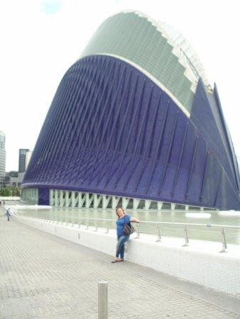 Ciudad de las Artes y las Ciencias: a