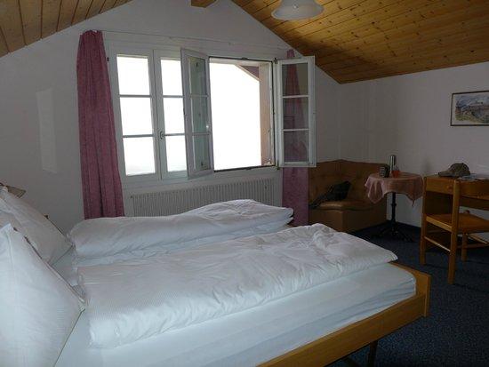 Berghaus Maennlichen: Simple but comfortable.