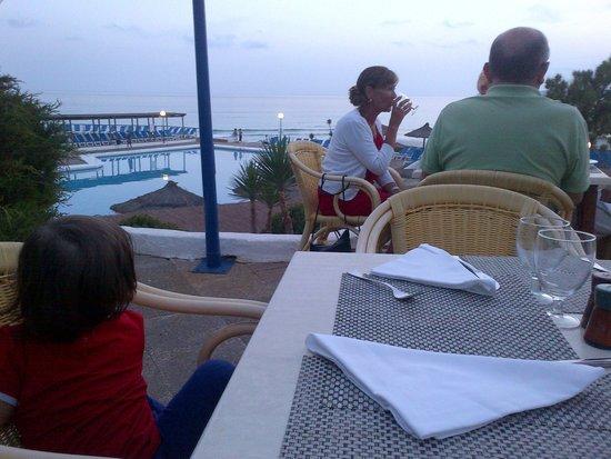 Insotel Club Maryland: vista dalla terrazza del ristorante