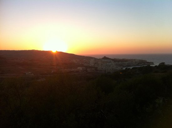Gianni's: Sunset over Marsalform from Gianni´s