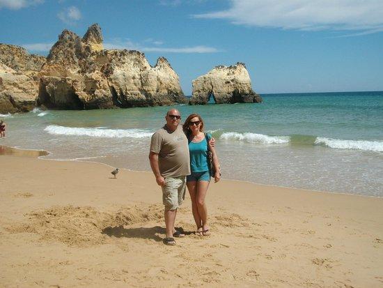 Praia de Alvor : prometemos volver aunque estamos a 600km es lo mas bonito en playas que hemos visto. Adios amigo