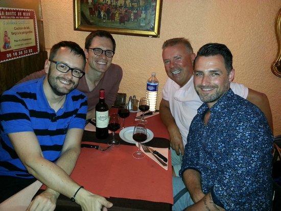 La Route du Miam : dinner with friends!