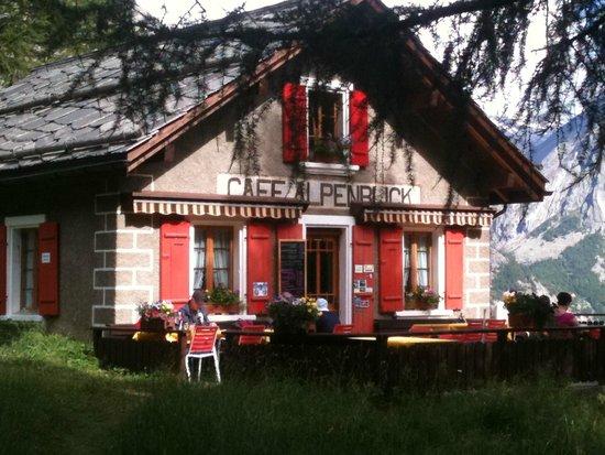 Cafe Alpenblick : Le Café Alpenblick à Saas Fee