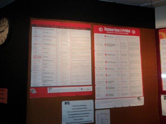 Prithvi Theatre: The notice board