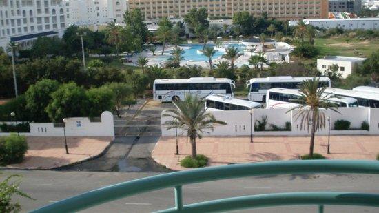 Yasmin Hammamet : вид на соседний отель