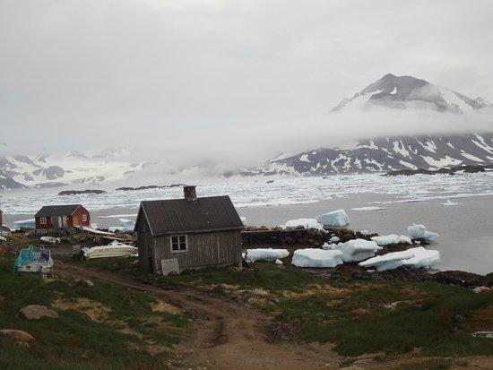 Kulusuk, Γροιλανδία: vista da cidade