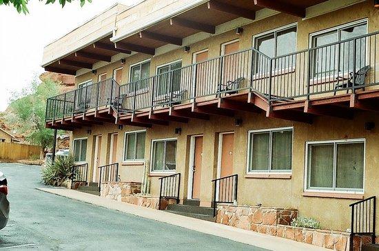 San Juan Inn: We stayed in Room 18