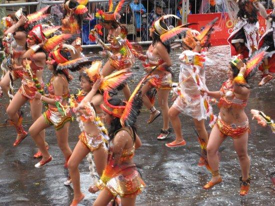 Carnaval de oruro: Toba dancers