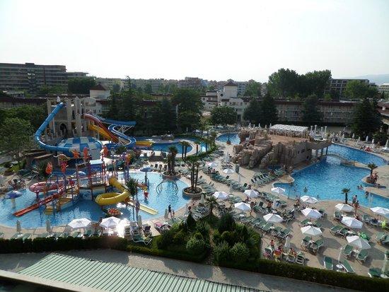 DIT Evrika Beach Club Hotel : Аквапарк