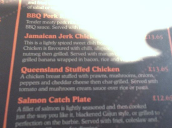 Roo's Leap: From the menu