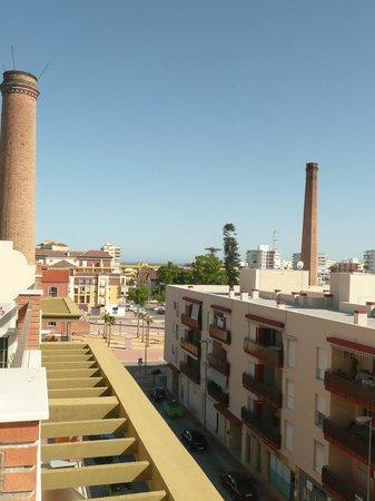 Apartamentos Acuario: Vistas desde la terraza