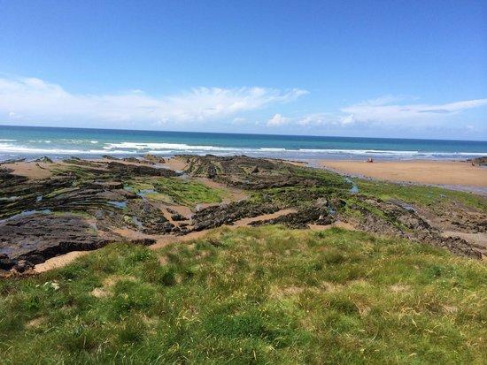 Hebasca: Coastal walk - Bude beach