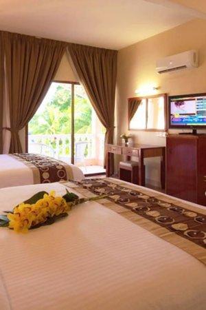 Aseania Resort & Spa Langkawi Island: Quad-sharing room