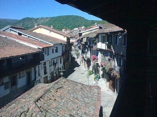 Hotel Spa Villa de Mogarraz: Vista desde el balcón de la habitación