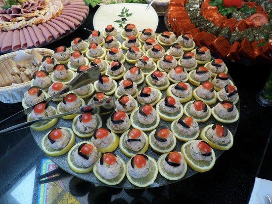 DIT Evrika Beach Club Hotel : Вкуснотища