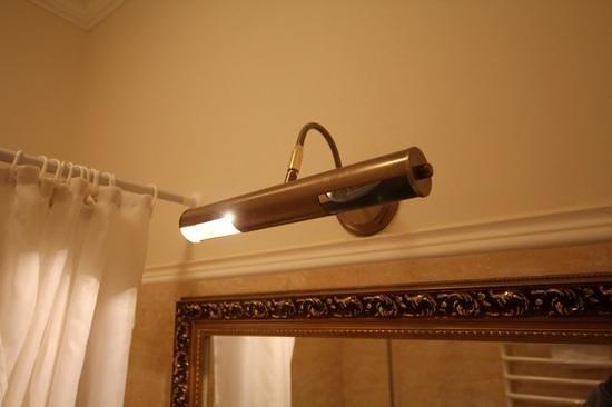 Royal Olympic Hotel: lamp