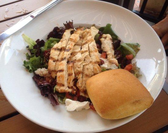 Tisha's: Chicken breast salad - delicious