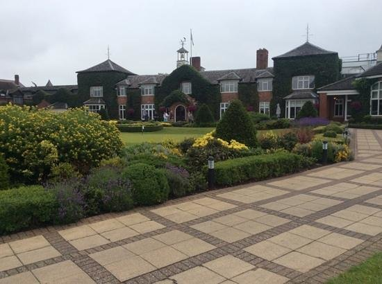 The Belfry: Wonderful View from the Putting Green
