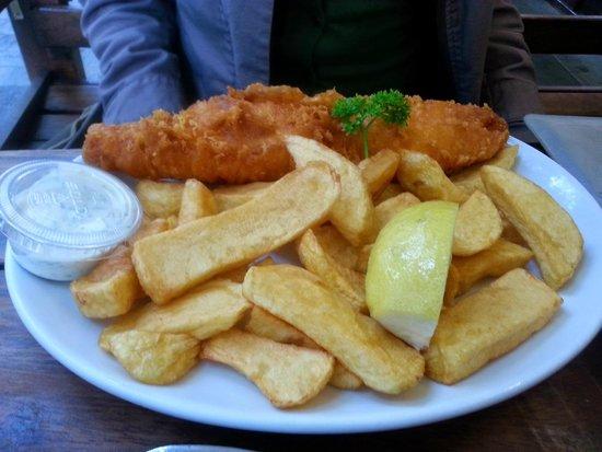 Rock & Sole Plaice: cod & chips