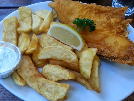 Rock & Sole Plaice: skate & chips