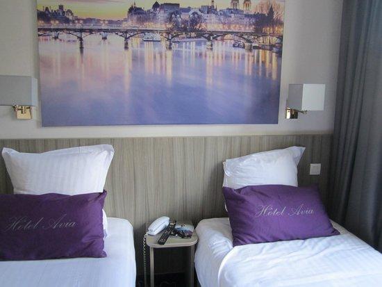 Hôtel Avia Saphir Montparnasse : Nice room