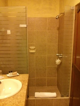 Hotel San Antonio Abad: shower area