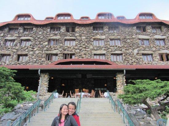 The Omni Grove Park Inn: Linda vista