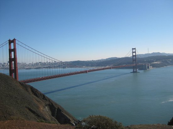 Puente Golden Gate: Golden Gate Bridge from Sausalito side