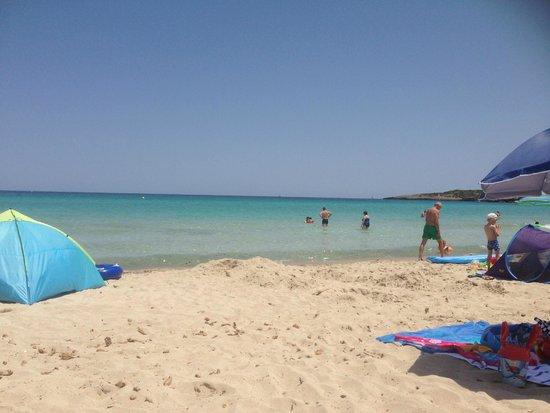 Protur Biomar Gran Hotel & Spa: Cala Bona beach