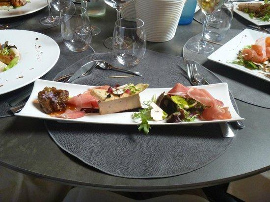 La Baratte: triologie de foie gras