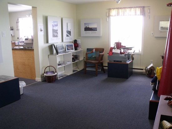 Cape Forchu Lightstation: 1 Museum room, 4 more to explore