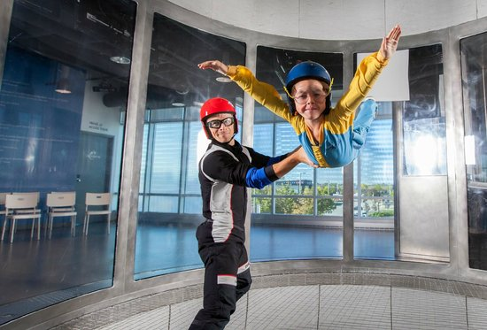 Kids can fly at iFLY Toronto