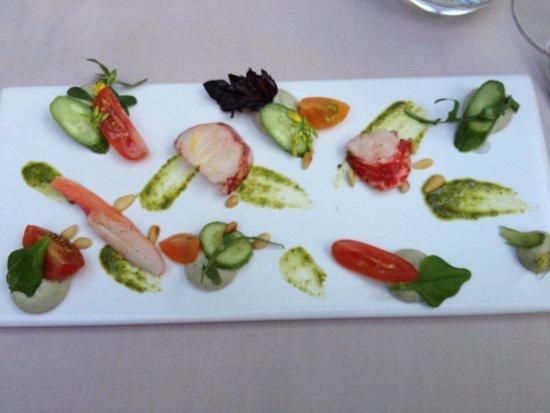 l'u.ni : Appetizer, Nice Presentaion