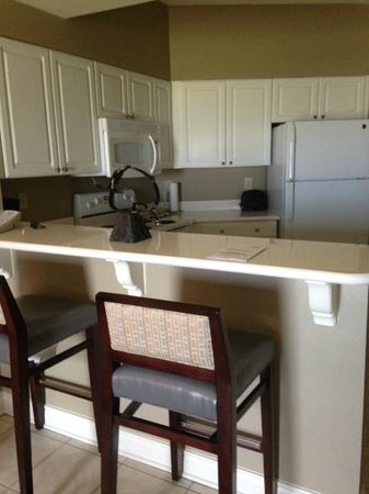 Holiday Inn Club Vacations Galveston Beach Resort: kitchenette