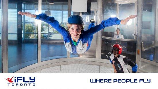 iFLY Toronto - Where people fly!