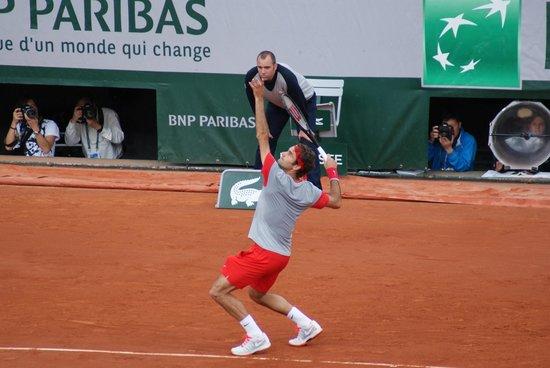 Stade Roland Garros: El maestro.