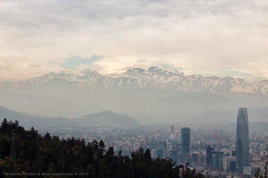 Cerro San Cristobal: Santiago